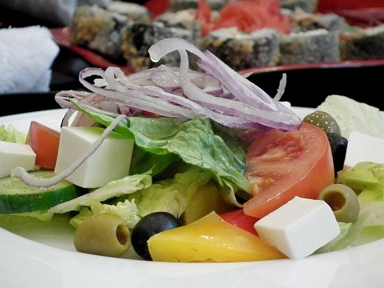 Amelia Court House, เวอร์จิเนีย: Fresh Greek Salads