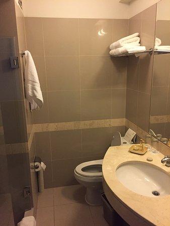 LP Cusco Hotel: Banheiro (novo e muito limpo)