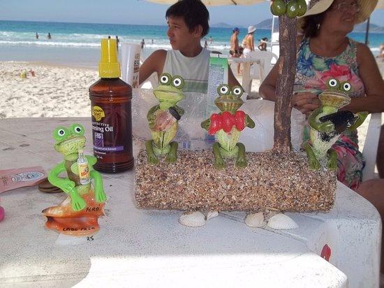 Playa Peiro: mar zul