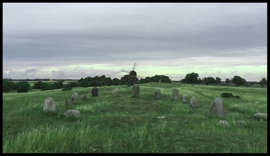 Degerhamn, Suède : Gettlinge Gravfält