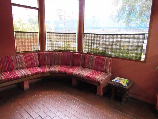 Hostal El Patio: Reception
