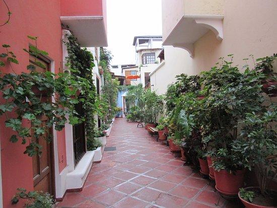Hostal El Patio: Common areas