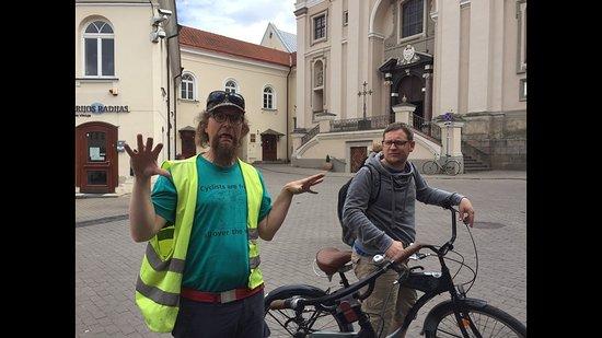 Velo City Vilnius Tours: Frankas in Action :)