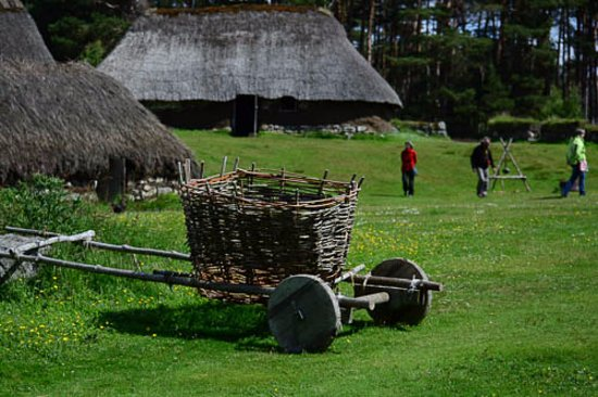 Highland Folk Museum: Typical home