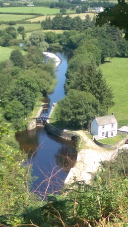 Borris, Ierland: Clashganny Lock on River Barrow