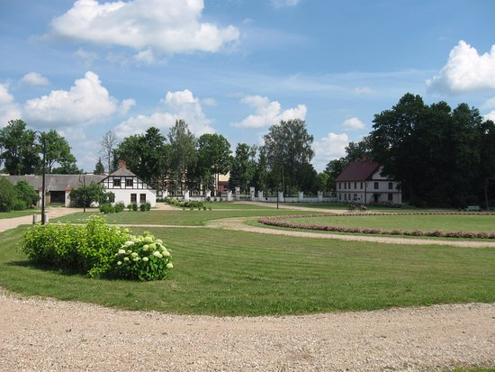 Kraslava, Letonia: подъезд к замку