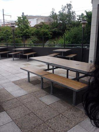 Vanves, Francia: Terrasse