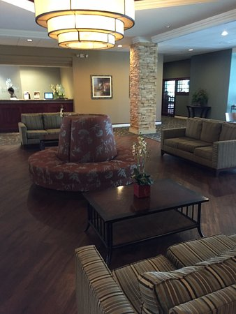 Green Lake, WI: lobby