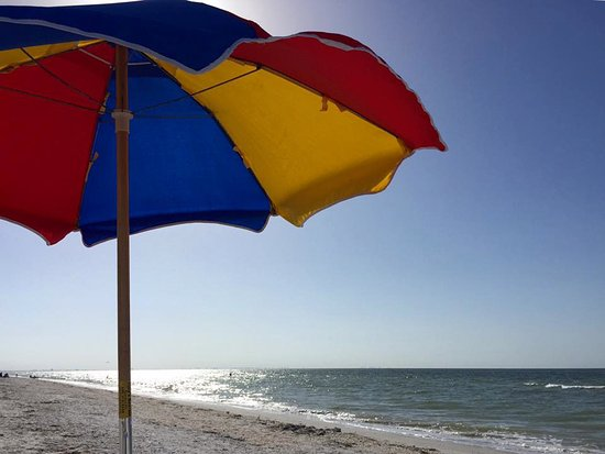 Ocean's Reach Condominiums: rent an umbrella for only $30/week