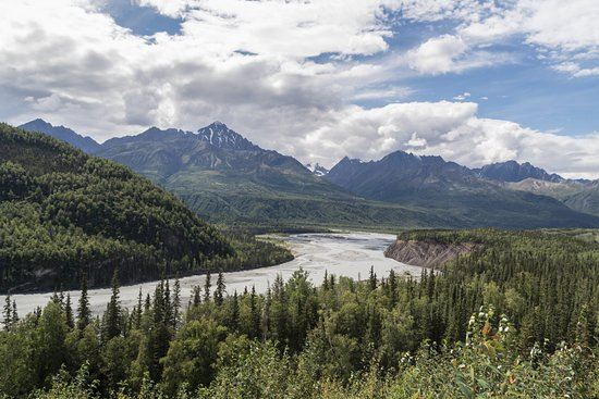 Glacier View, AK: River