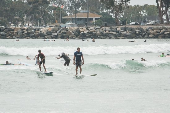 Dana Point, Californien: Surfing area