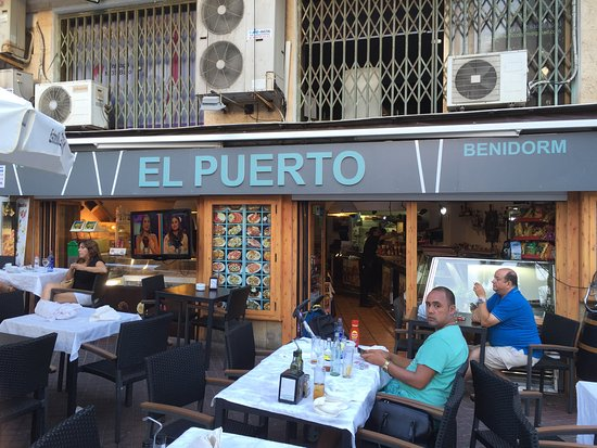 Gratis chopittos picture of restaurante marisqueria el puerto benidorm tripadvisor - Restaurante el puerto benidorm ...