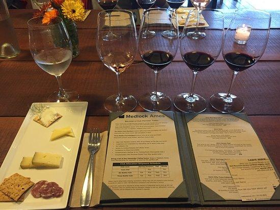 Medlock Ames Winery: The tasting