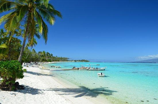 Belostna Plaz Hotelu Sofitel Moorea La Ora Beach Resort