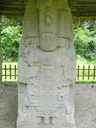 A stelae at Quirigua