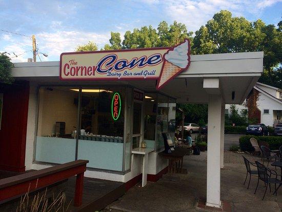 The corner cone dairy bar grill bike rental fast for Food 101 bar bistro