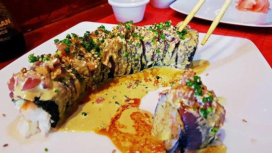 """Derek's Sushi Bar: The """"Derek Roll."""""""