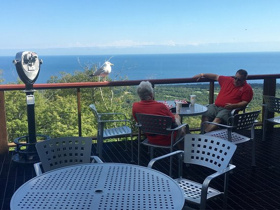 Lutsen, MN: Wonderful Gondola ride!