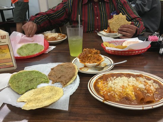 Best Cheese Enchiladas In Denver Review Of Taco House Littleton Co Tripadvisor