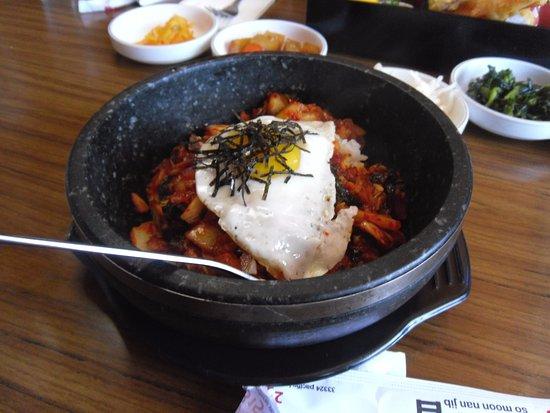 Sonny Bear's Restaurant : Kimchi rice bowl