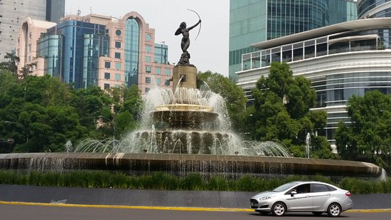 Diana the Huntress Fountain