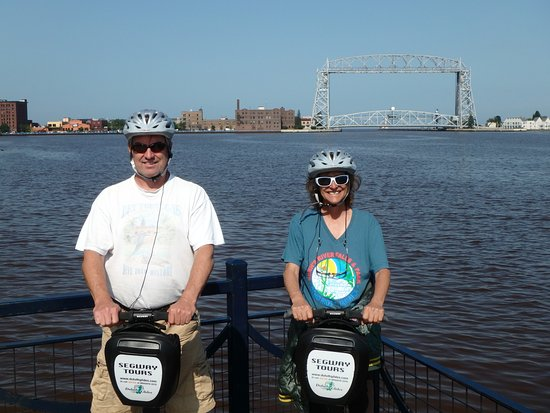 Duluth Glides: Looking at the Aerial Lift Bridge from the Harbor side