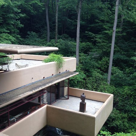 ‪‪Fallingwater‬: The view from the third level‬
