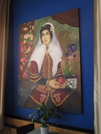 wall art in Ahmad\'s - Picture of Ahmad\'s Persian Cuisine, Omaha ...