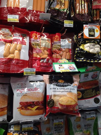 Ibis Bangkok Siam: What is selling in 711