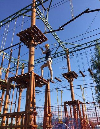 Panda Mitino Park Rope Park