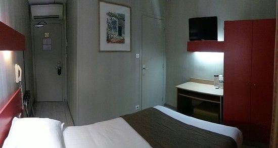 Hotel Des Trois Gares: Une nuit, une chambre individuelle