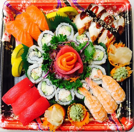 Party Tray Picture Of Afc Sushi Allen Tripadvisor
