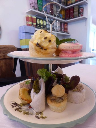Oxford, Neuseeland: High tea for two
