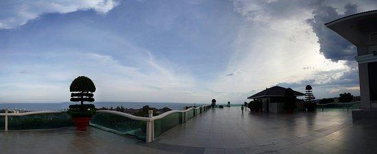 โรงแรม ซี ลิงค์ บีช: Reception view