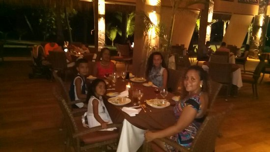 Tambor, Κόστα Ρίκα: Excelente cena en El Restaurante el Rancho, feliz x la excelente atencion x parte del señor Nino