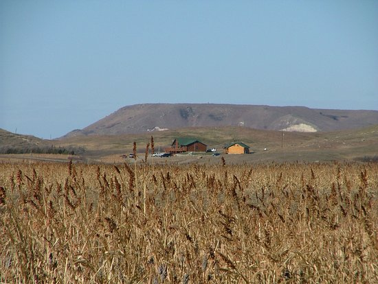 Gregory, Dakota del Sur: View of the Buffalo Butte's in the background.