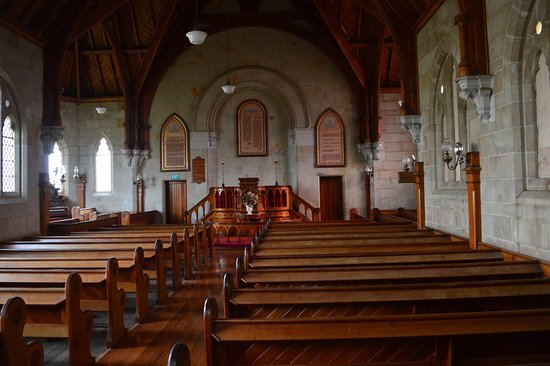 Tasmania, Australia: Inside Old Church