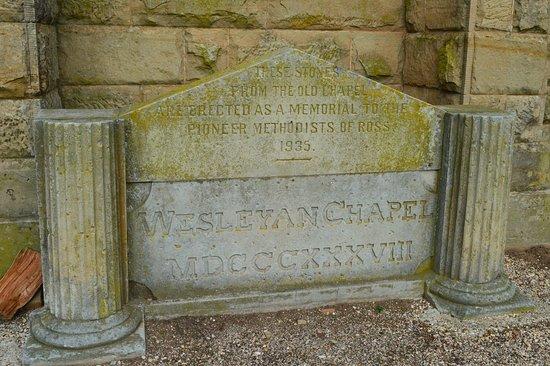 Tasmania, Australia: Church Stone