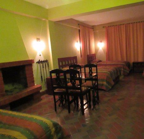 Amaru Valle Hotel : Bedroom