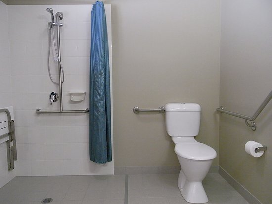 Bargara, Australien: Open Plan Easy Access Bathroom