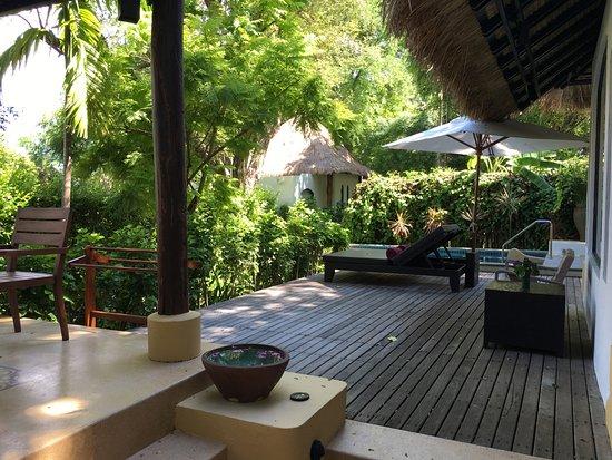 โรงแรมปารดี: garden pool villa