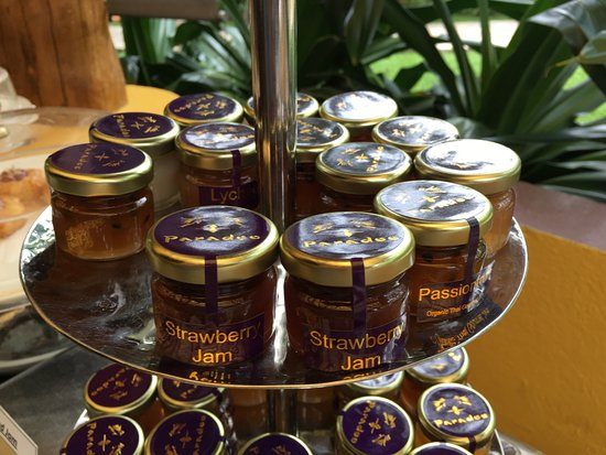 Paradee Resort & Spa Hotel: jummy jams