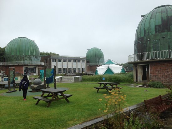 Herstmonceux, UK: The observatory Center