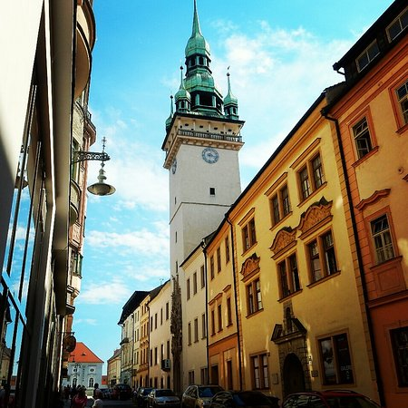 """Brno, República Tcheca: Das """"Alte Rathaus"""" von Brünn"""