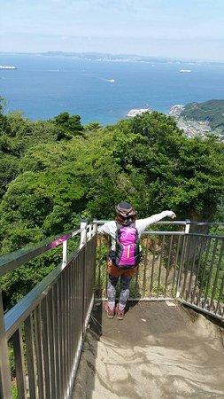 Prefektura Chiba, Japonia: 天気が良ければ三浦半島も望めます