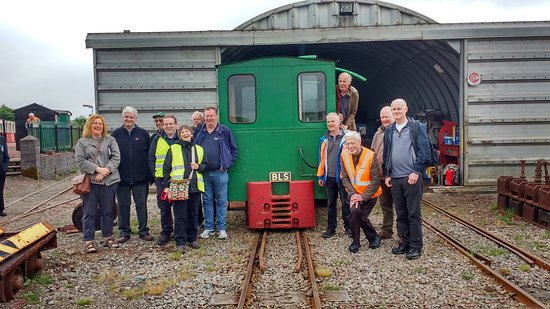 Leadhills, UK: Branch Line Society Visit