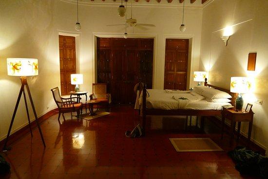 Kanadukathan, Indien: Bedroom in suite