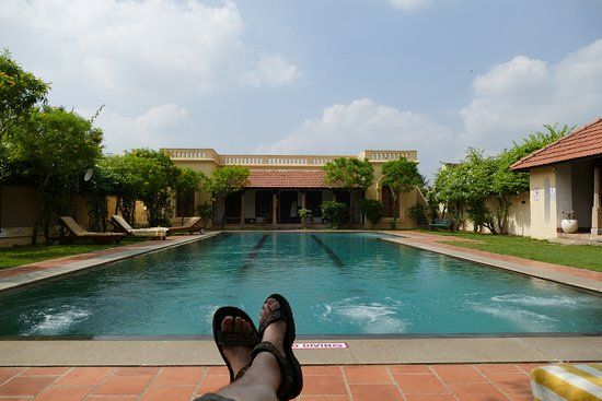 Kanadukathan India  city photos gallery : Kanadukathan, India: Pool