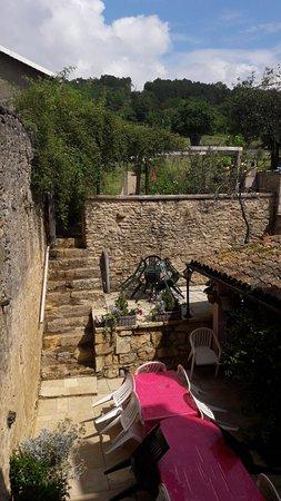Maison d'Angeline : Garten