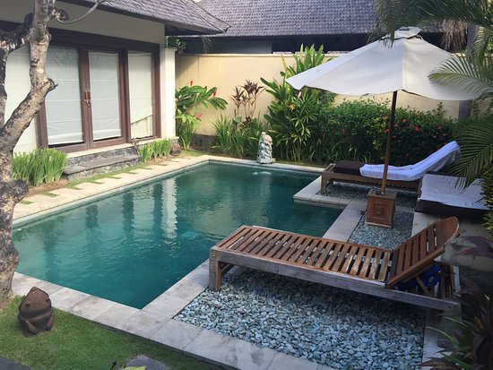 The Sanyas Suite Seminyak: Loved the pool
